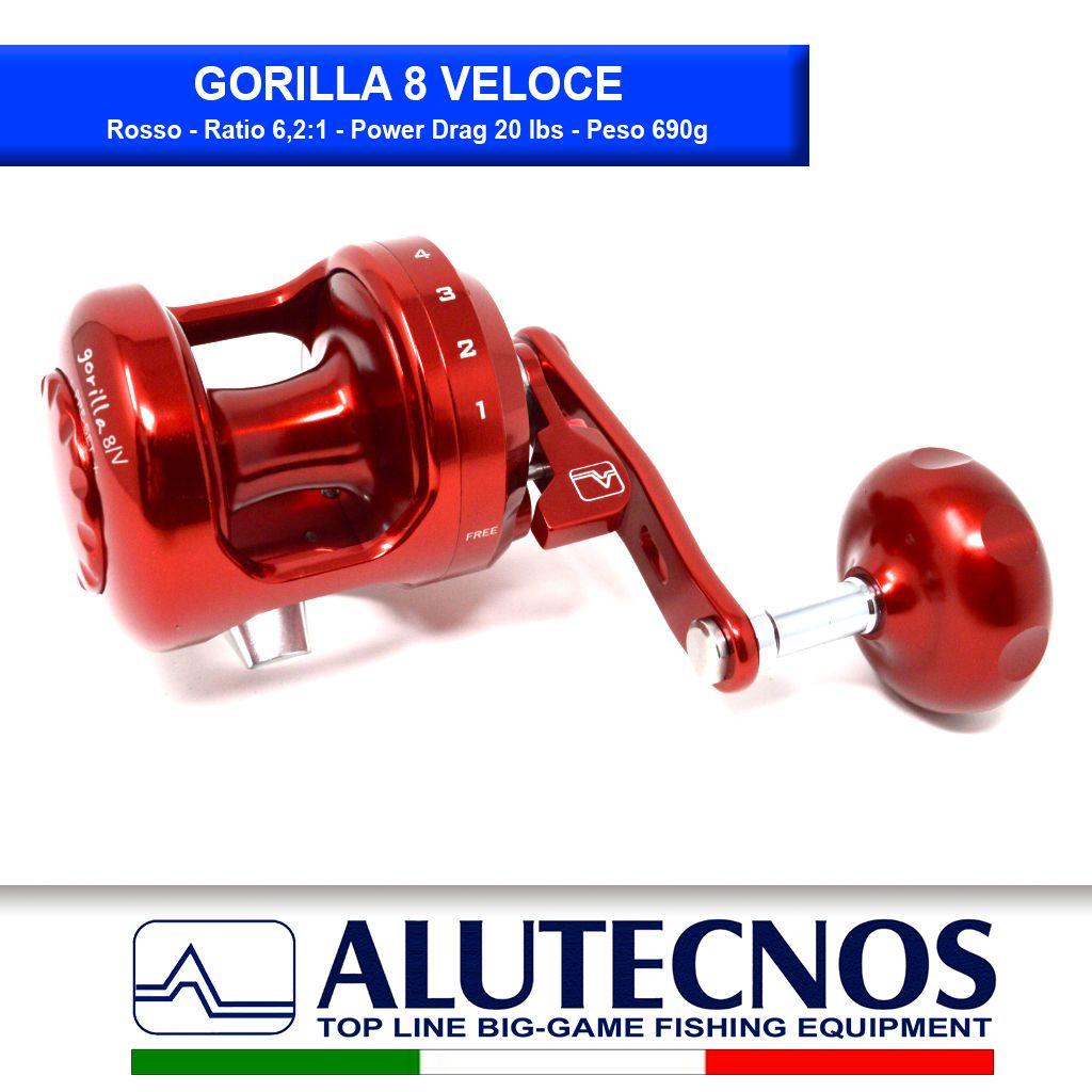 Alutecnos 8 Gorilla Veloce Rosso