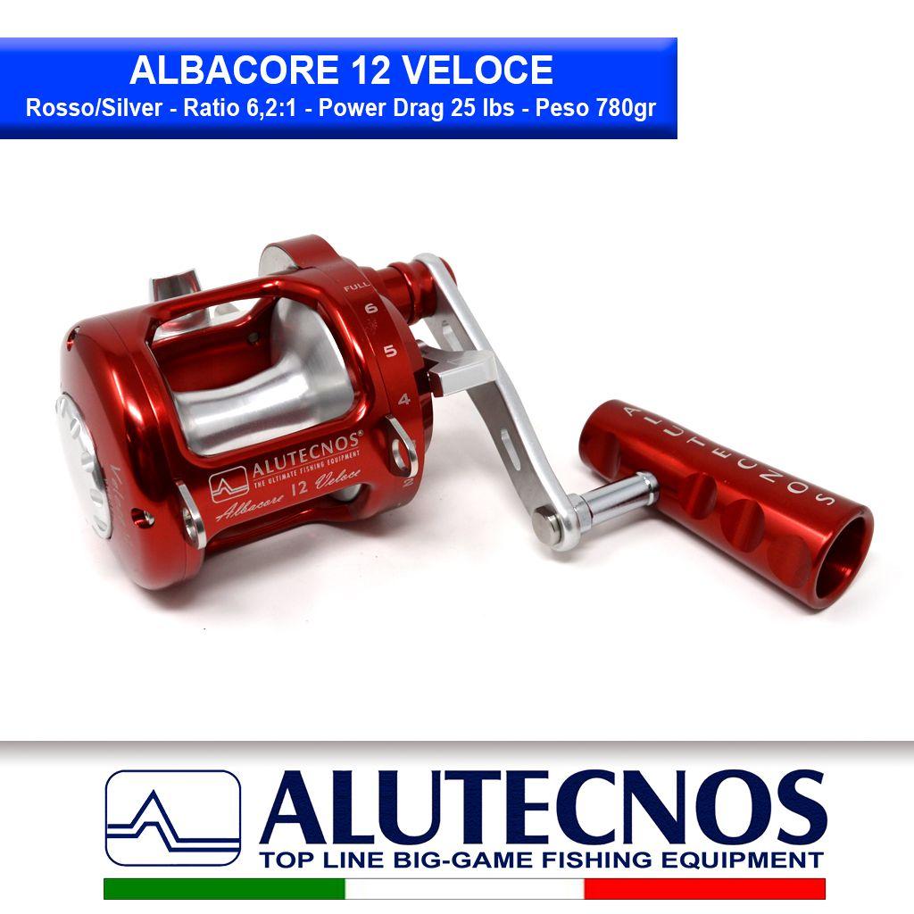 albacore-12-veloce-rosso-silver