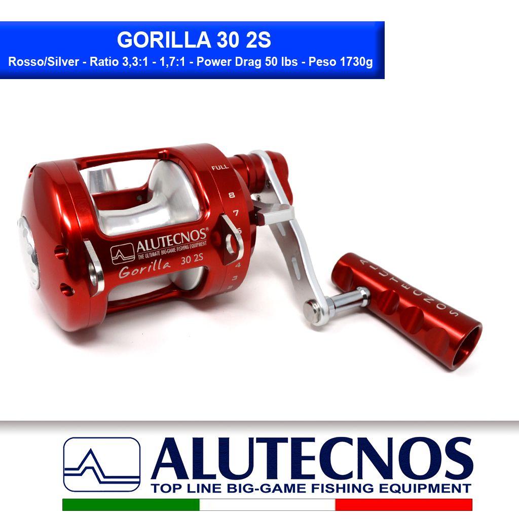 gorilla-30-2s-rosso-silver